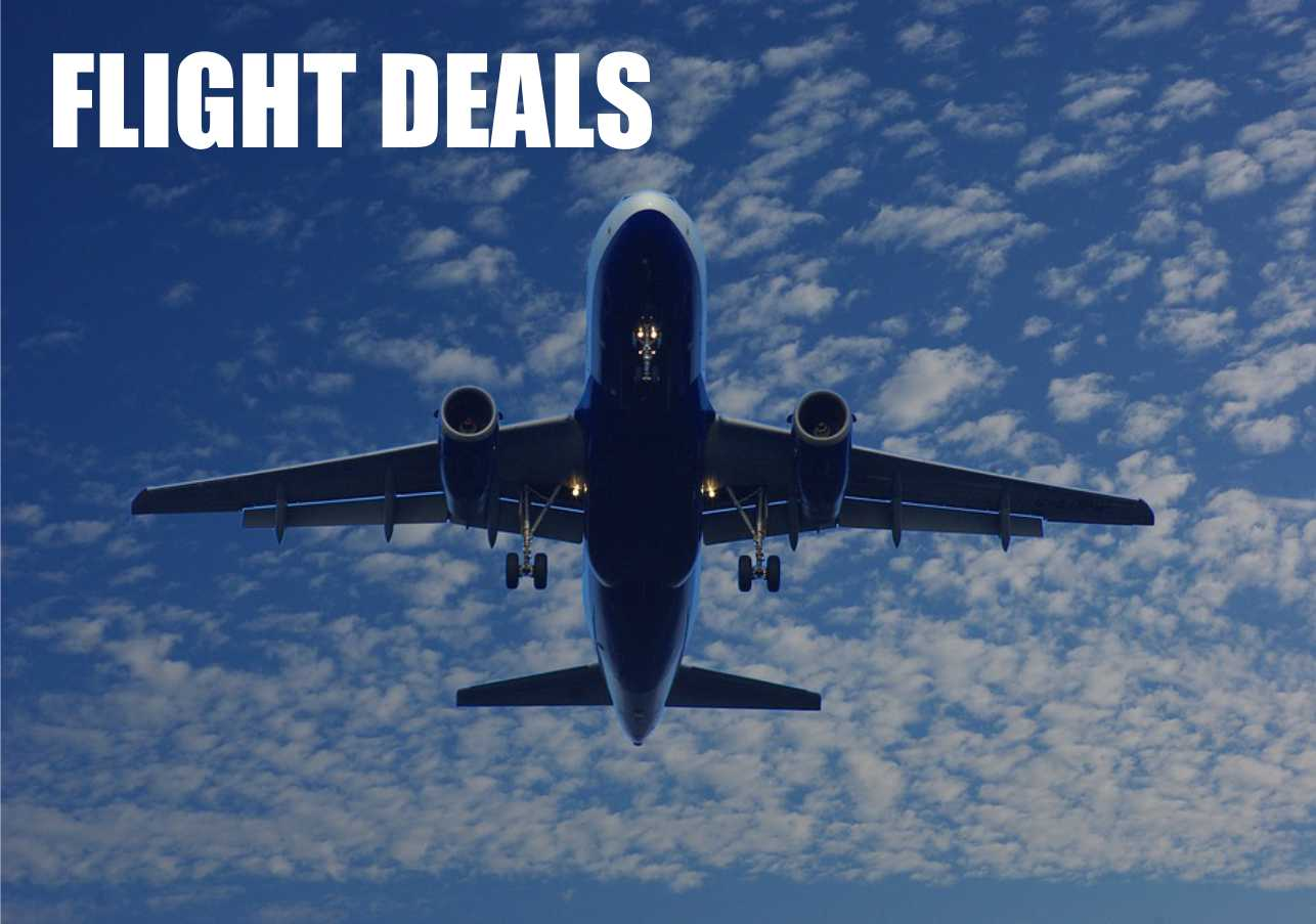 Amazing Flight Deals