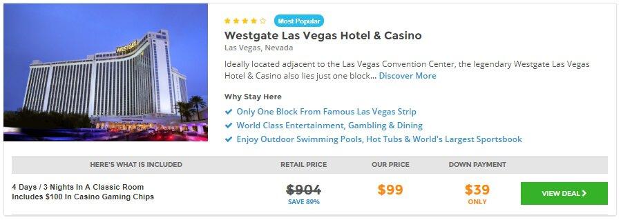 3 Night Stay At 4 Westgate Las Vegas Resort And Casino