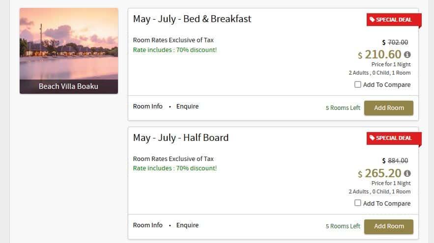 Dhigufaru Island Resort Maldives Hotel Deal