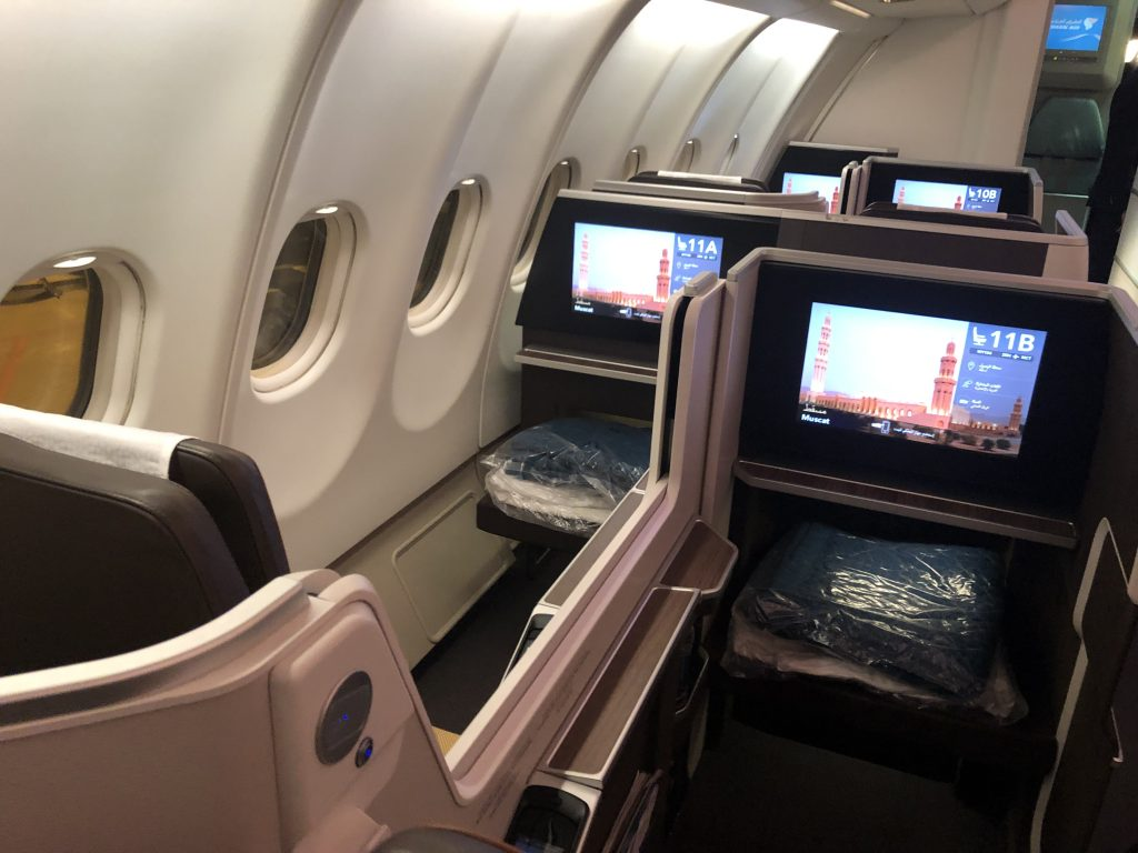 Oman Air Business Class WTC