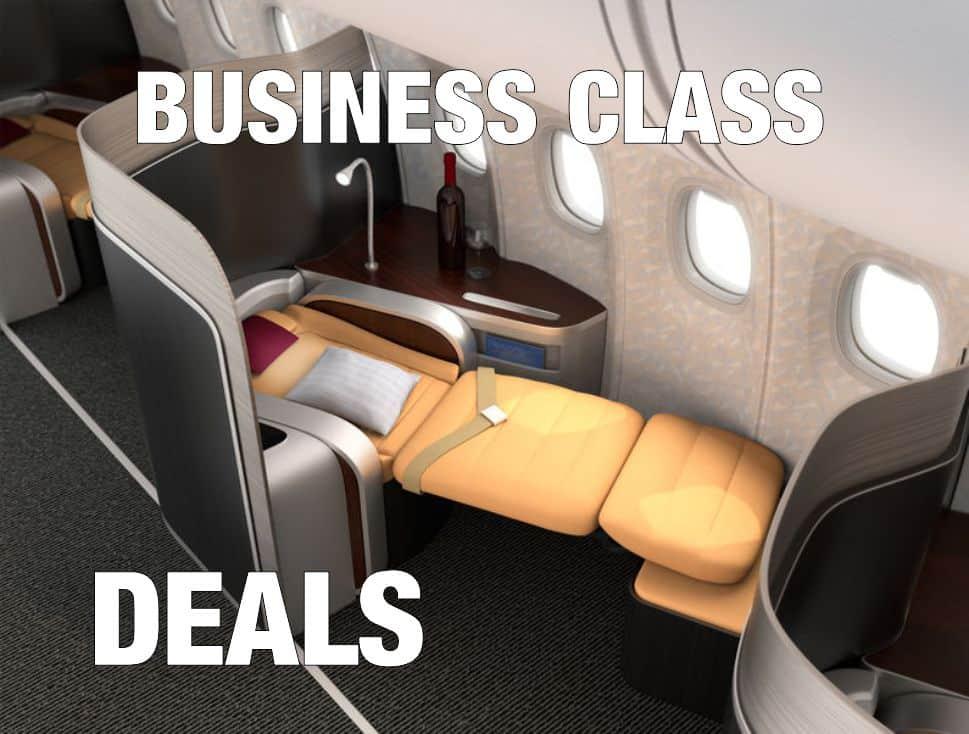 Business & First Class Deals