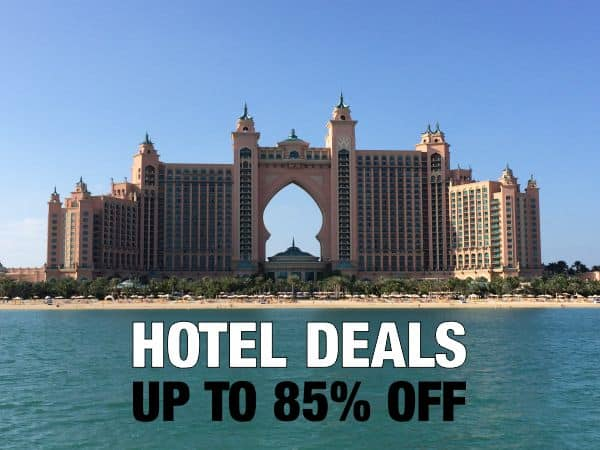 Hotel Deals up to 85% off!