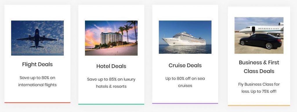 Travel Deals Meta Search