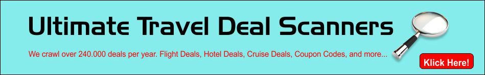 Travel Deal Scanners
