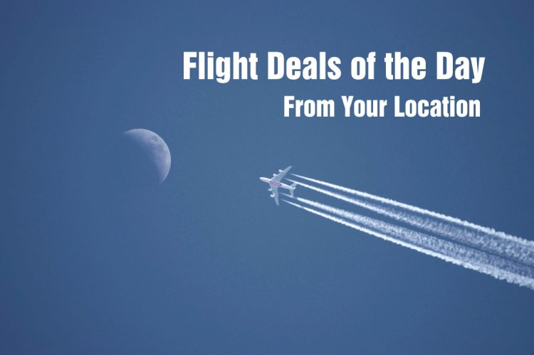 Killer Flight Deals for your Location