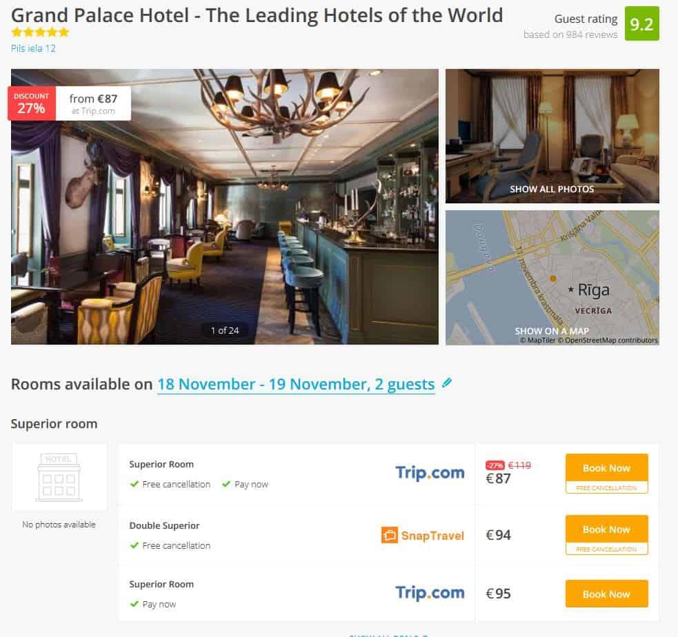 Riga Hotel Deals