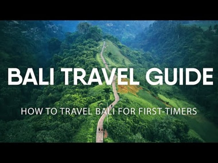 Bali Travel Guide – How to travel Bali for First-timers